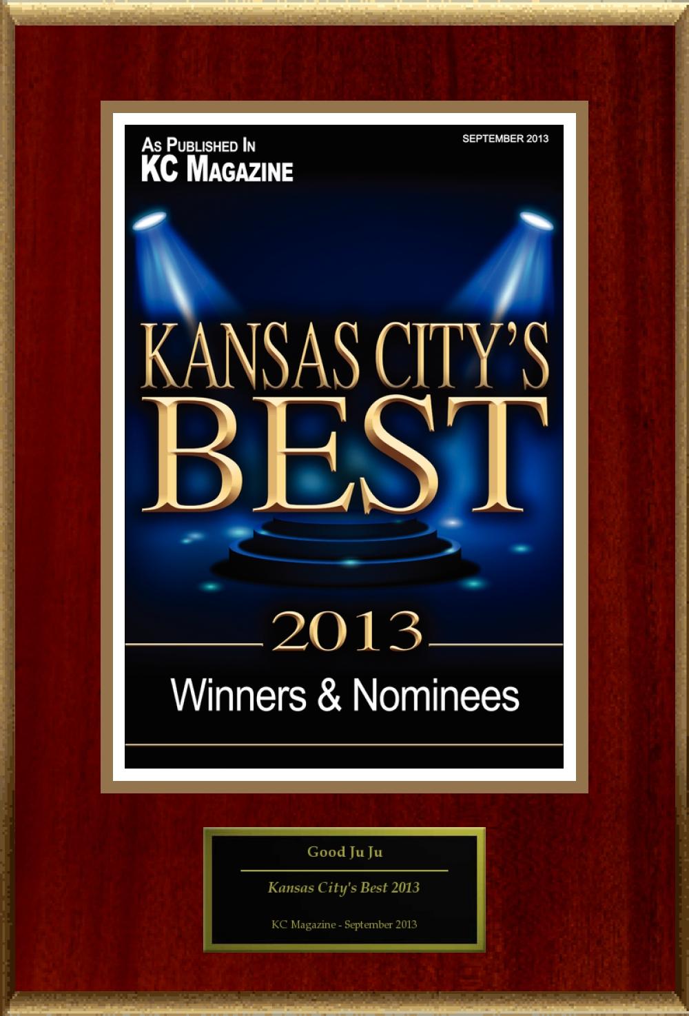 KC Magazine City's Best Award 2013