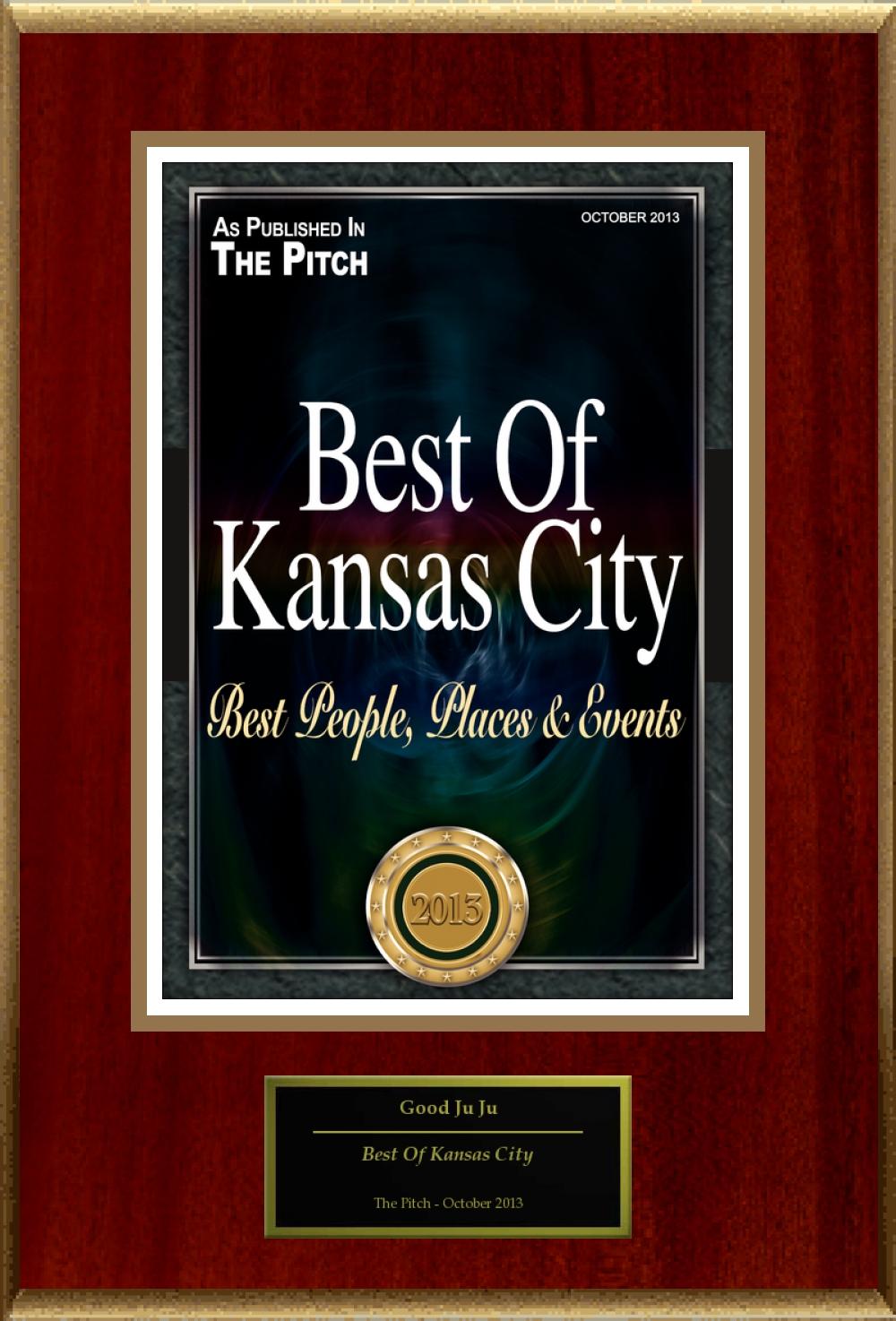 The Pitch Magazine City's Best Award 2013