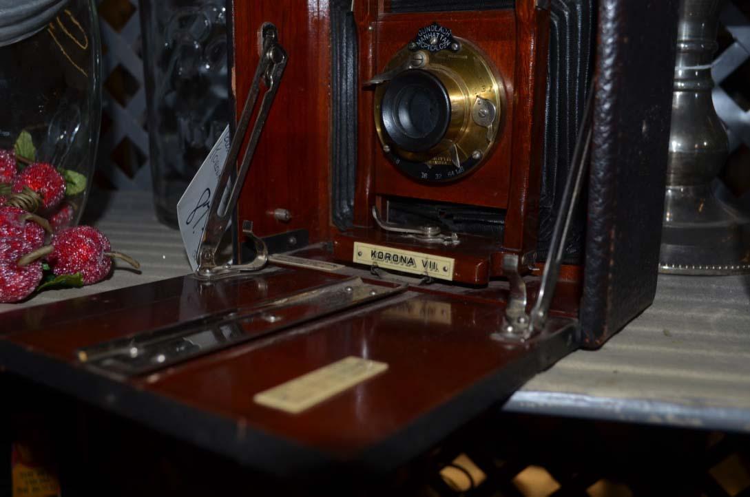 Turn of the century box camera