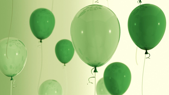 Look For the Green Balloons In Store