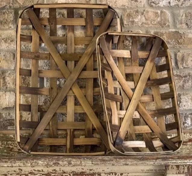 2 Antique Baskets
