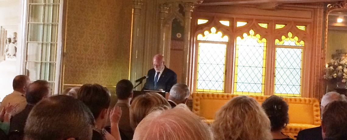 The Honourable David Hurley AC DSC (Ret'd) launches the book, Government House, Sydney, November 2016