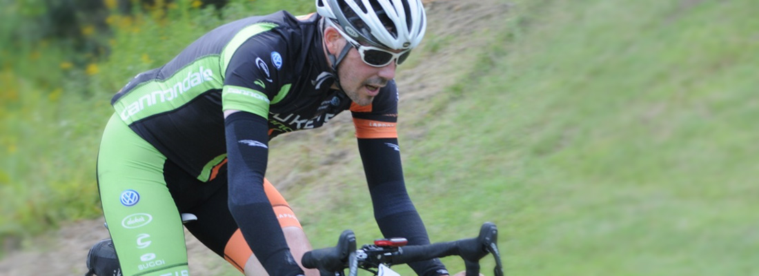 David Michael Lamb, at the Vermont Overland Ride. Tuning up the fitness before 'cross season begins in the fall.