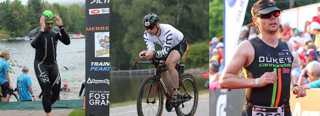 Thomas Hughes breaks his Personal Best by over 50 minutes at the Muskoka Ironman