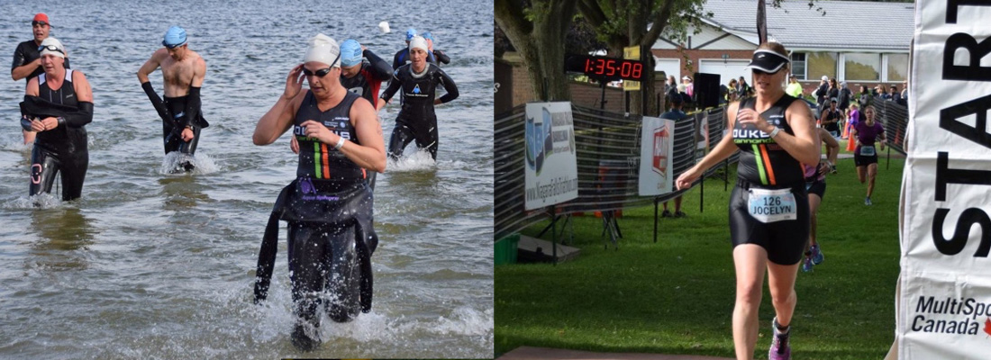 Jocelyn flies the colours in two back to back weekends of racing.