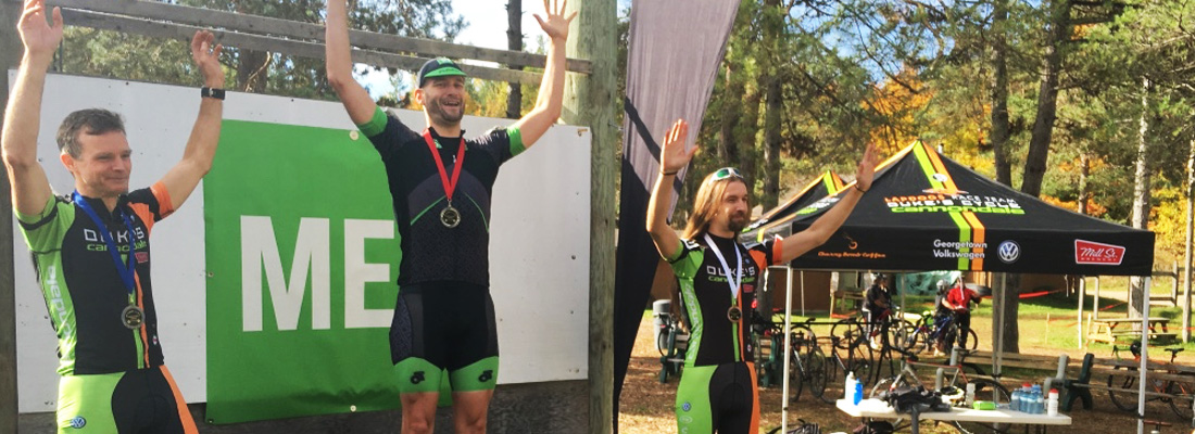 Marcus and Russell, take two of three spots on the Master 3 podium.