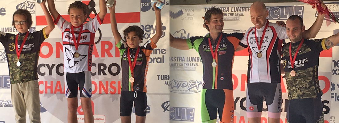 Young Benen takes a well deserved 3rd Place in his rookie season. Team veteran Mark, takes a hard fought 2nd place. (thanks to Rob MacEwen for the photos)