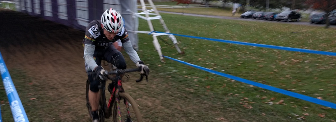 Marcus at speed, and through the tent at CX Nationals.