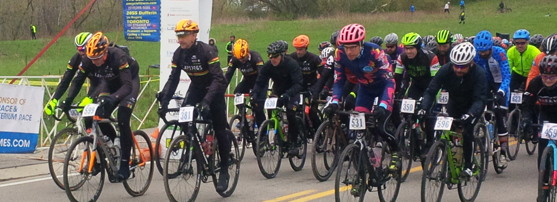 "Several LapDogs launch themselves at the start of the 70k P2A. With 50+ LDCC members in attendance, the ""Dogs were by far the most represented club and this year's event."