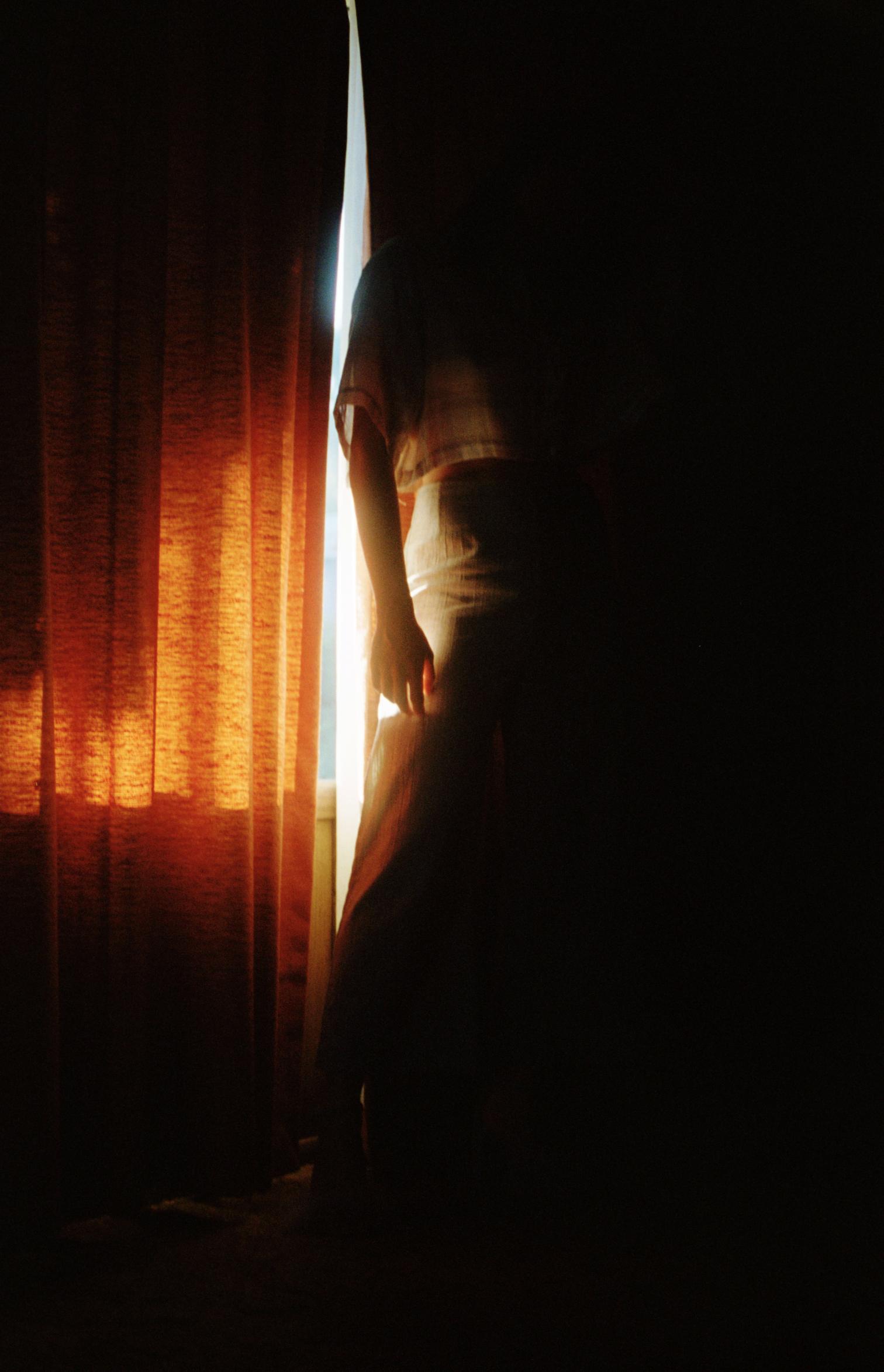 film plaid shirt two tone pants 3.jpg