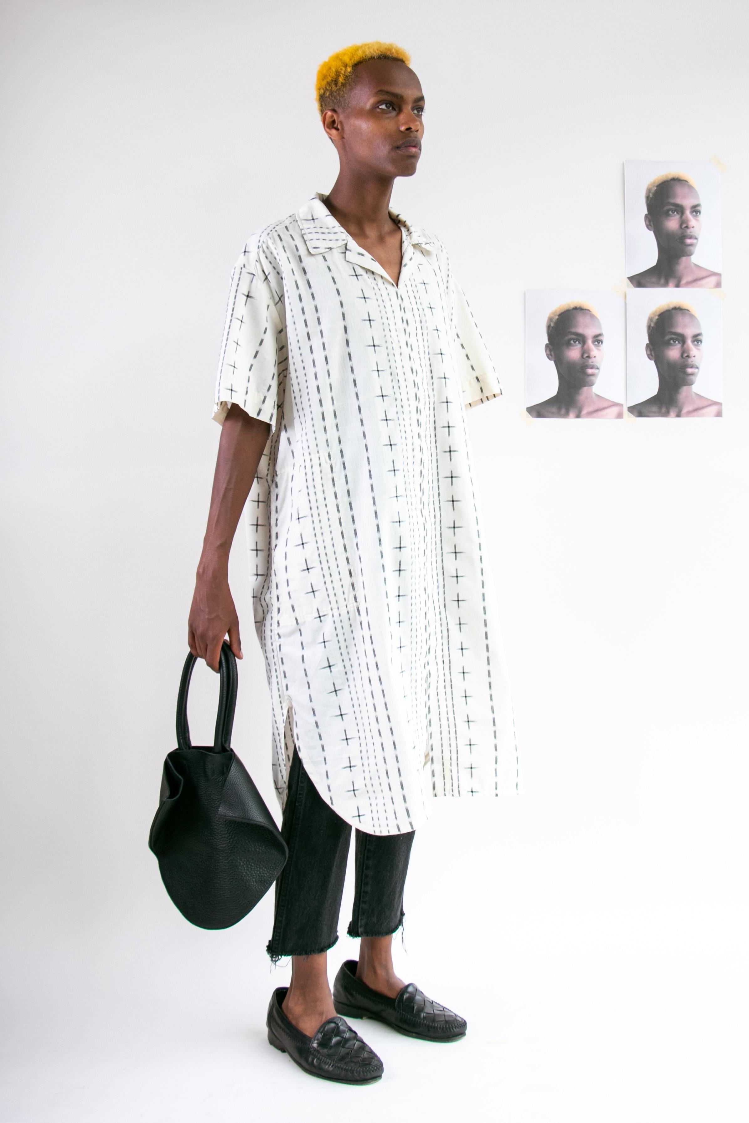 tantuvi shirt dress and small bag.jpg