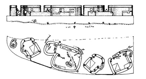 Architectural drawing of  Villa Mache