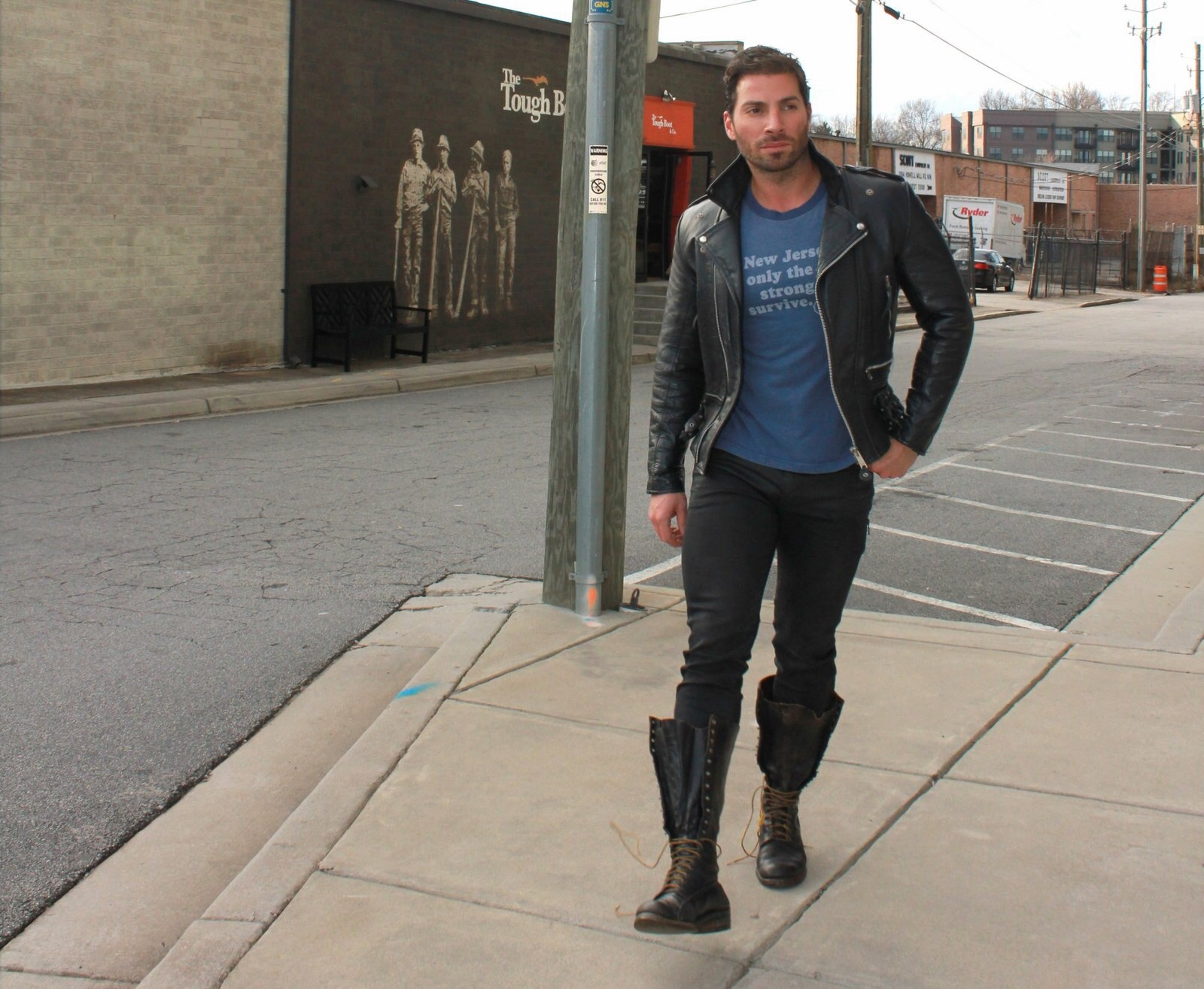 Shot on location   west midtown   the tough boot   clothes by the tough boot   photographed by maryan aiken for paperglass.