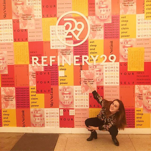 back @ it again w/ @refinery29 & @serenakerrigan for something ~*kEwL*~