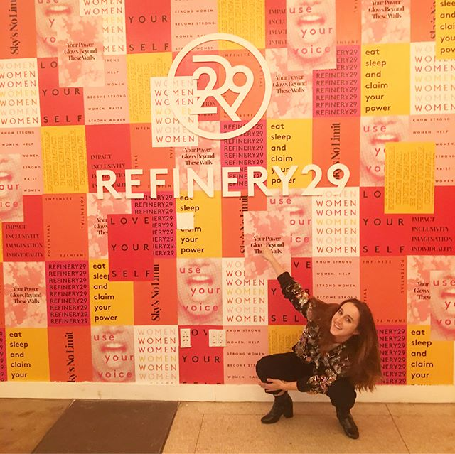 back @ it again w/ @refinery29 & @serenakerrigan for something ~*kEwL*~