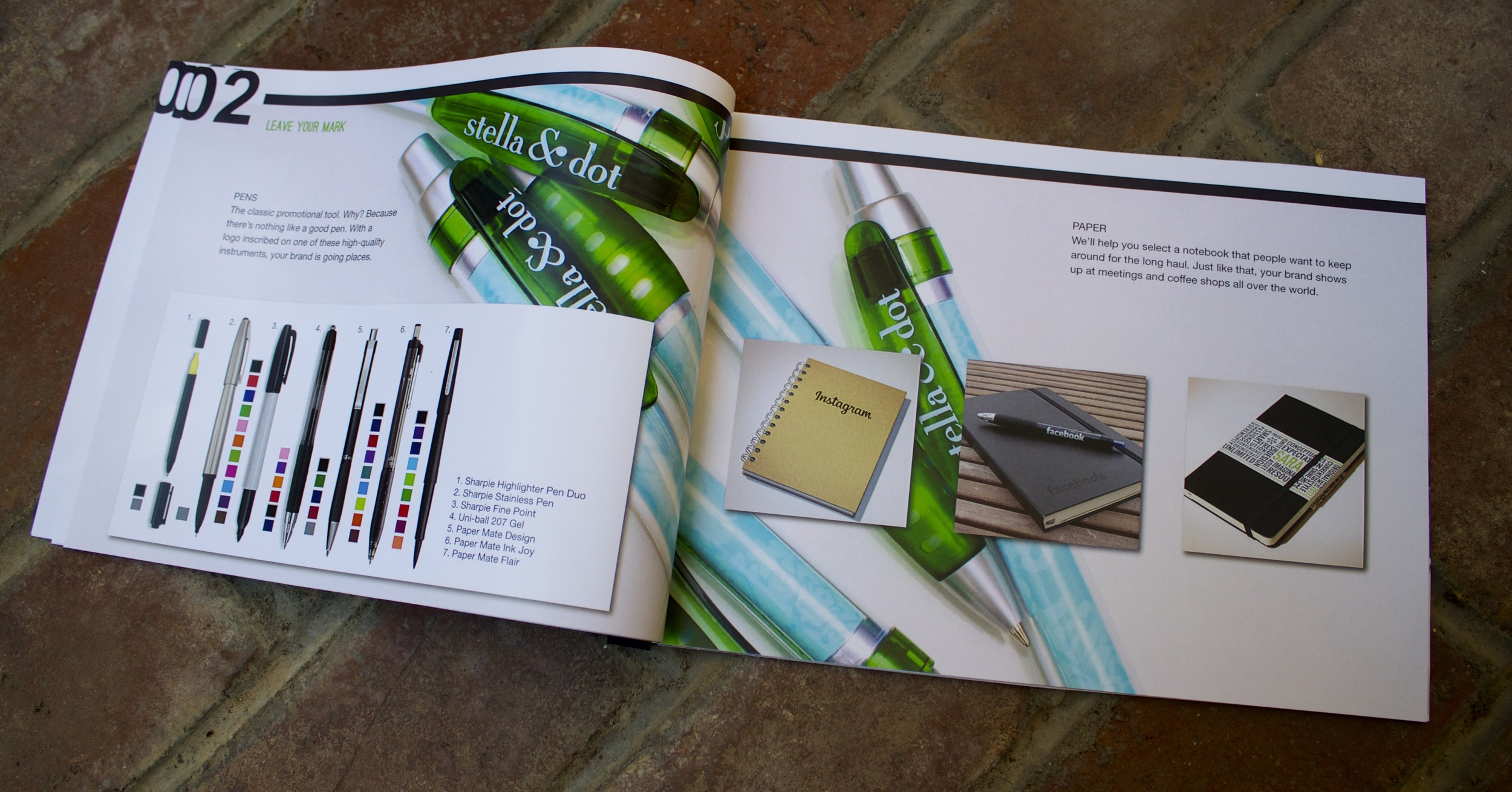 Lookbook graphic design & layout