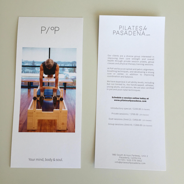 Brochure design & print