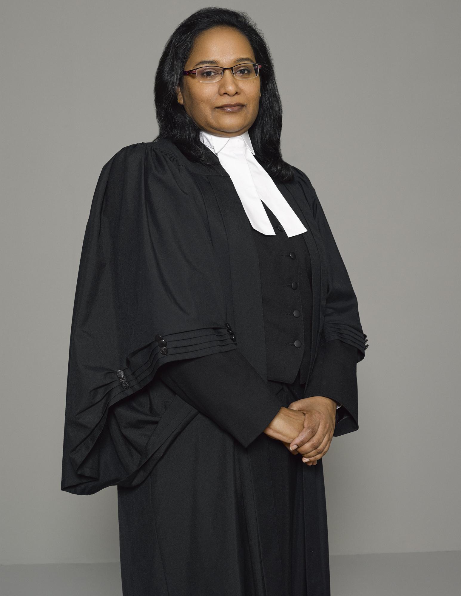 Call to Bar Professional Graduation Portrait