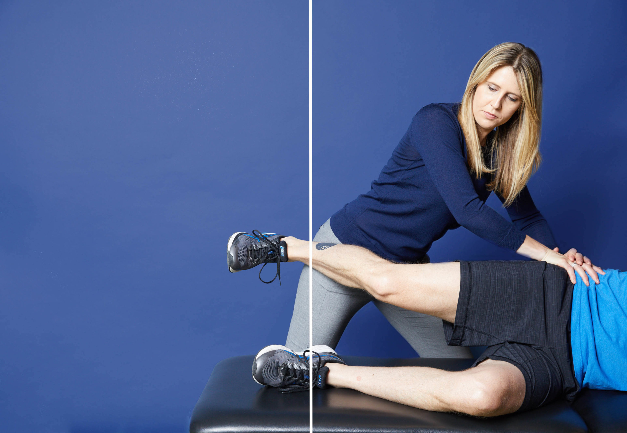 Dr. Heather McGill uses ART to reduce hip pain and low back pain
