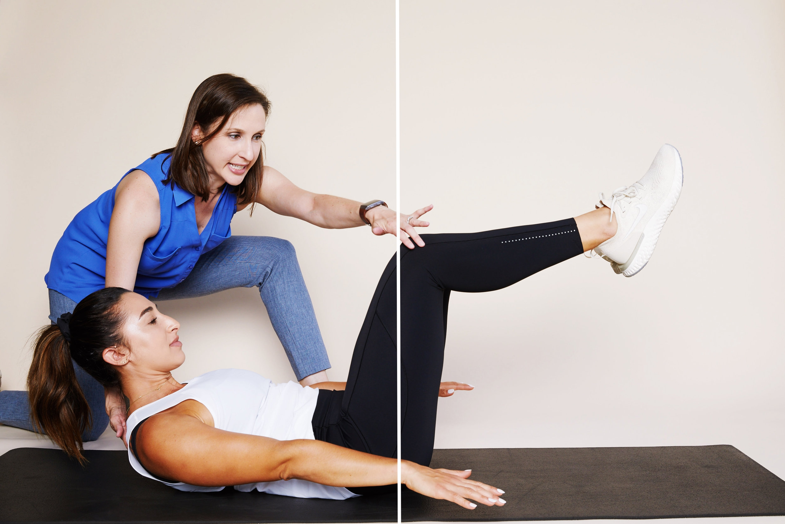 Dr. Kathleen Melia combines physical therapy and pilates to help the performing artist