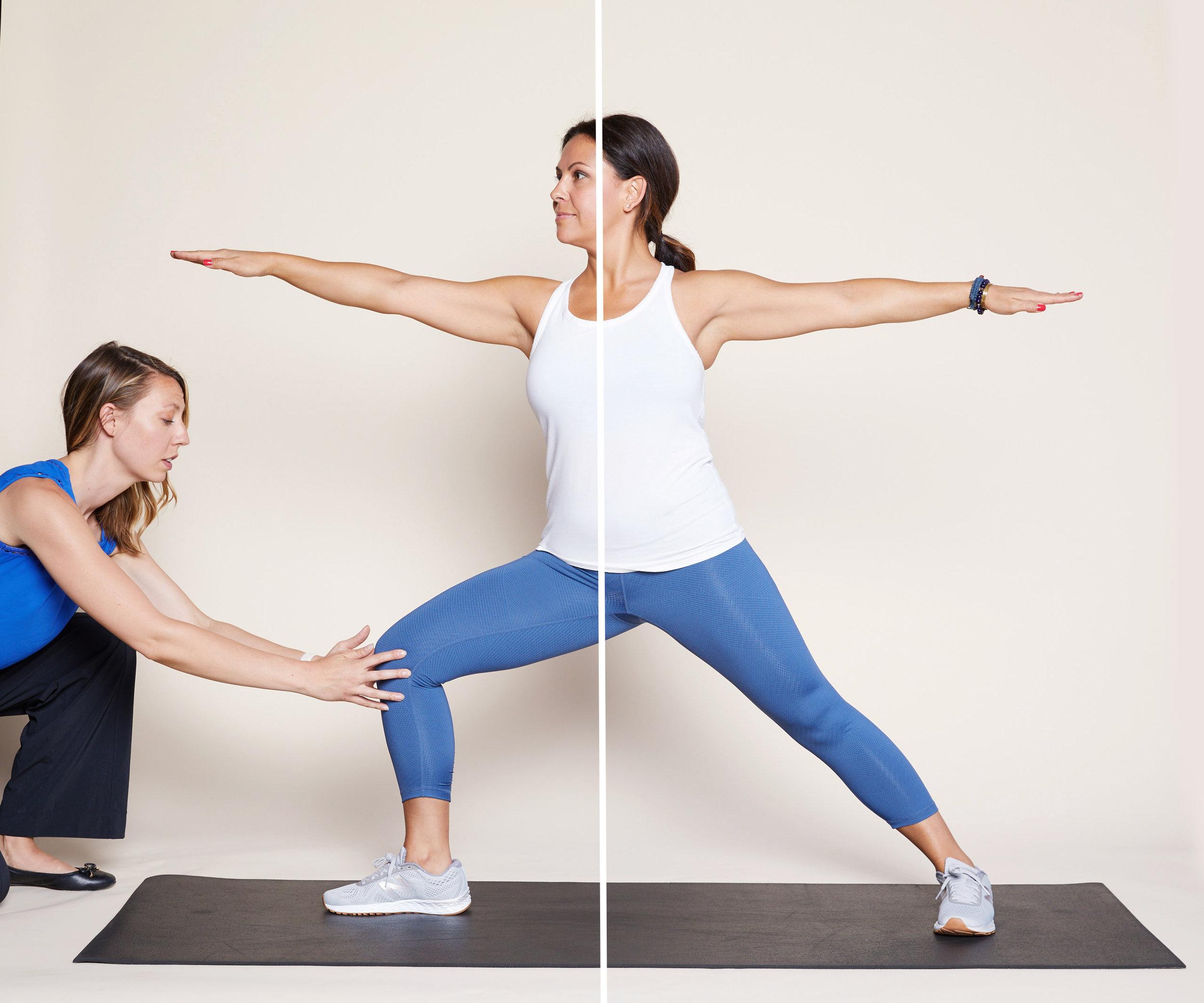 Strength training for yoga
