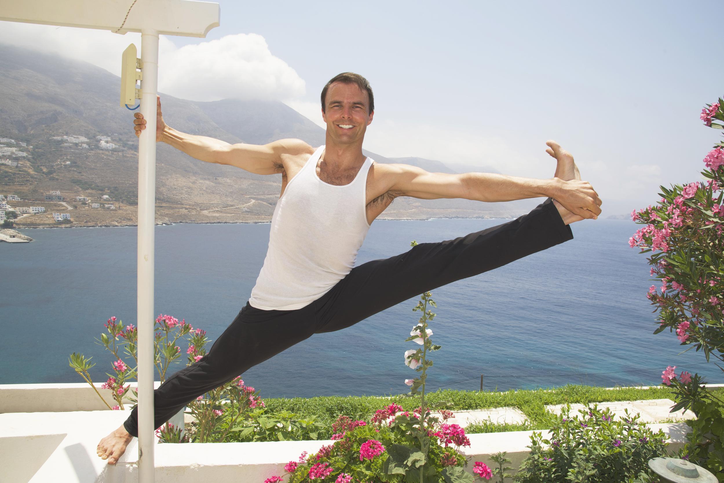 Garth - Hanging On Pole - Greece.jpg