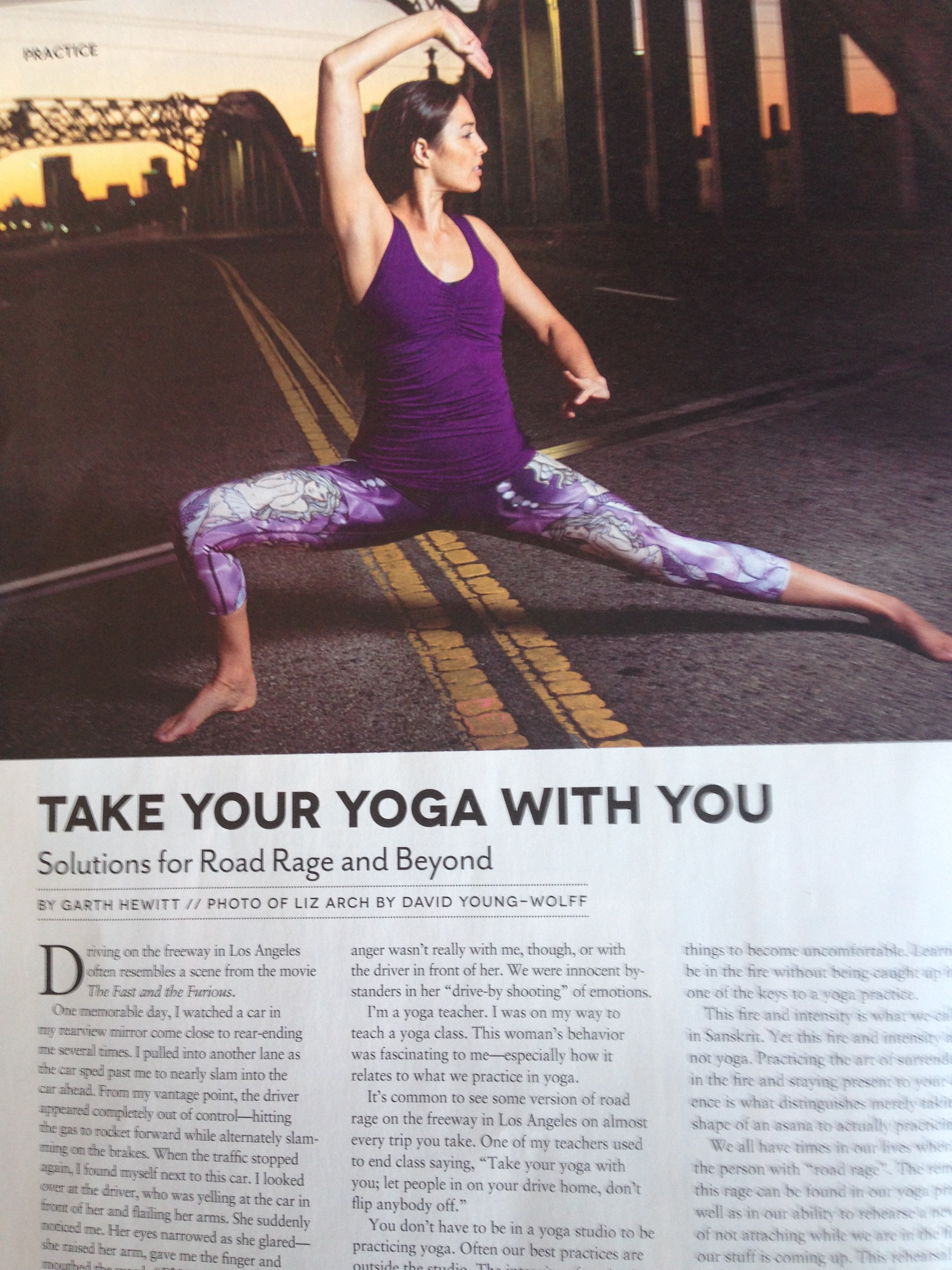 Take Your Yoga With You -- Lessons for Road Rage and Beyond by Garth Hewitt