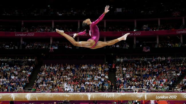 Gabby Douglas Olympic Beam