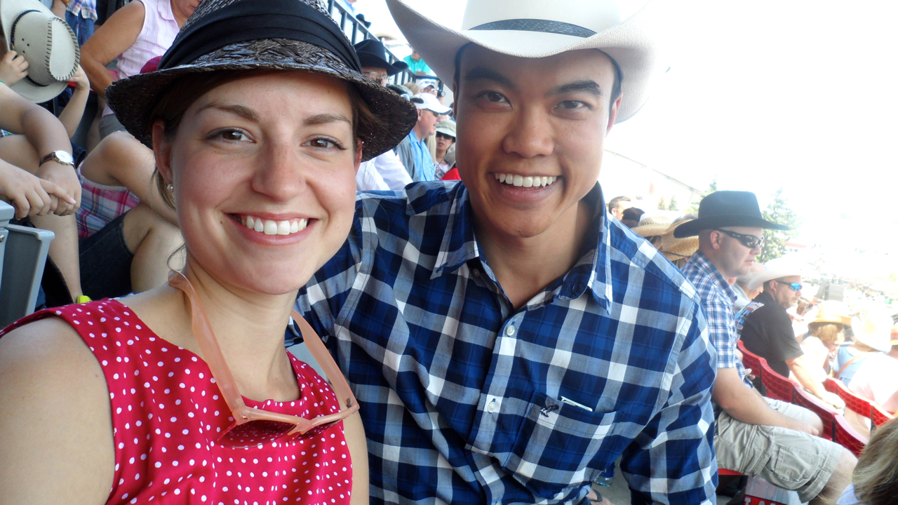 Kalyn and Vince at the Stampede