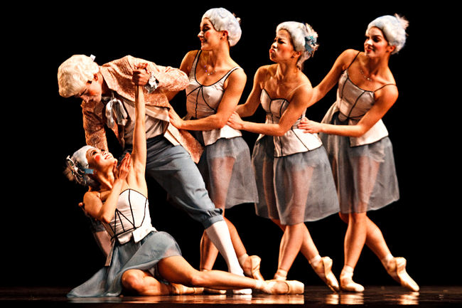 """Alberta Ballet's world premiere of """"Pomp without circumstance"""" featured delightful choreography, performances and conception. Photo by Codie McLachlan, Edmonton Sun/QMI Agency"""