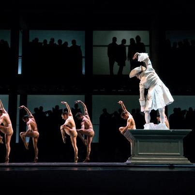 """""""Mozart's Requiem"""" captured the magnificence of Mozart through the stunning collaboration of Alberta Ballet and The Calgary Philharmonic Orchestra and Chorus. Photo by Alberta Ballet."""