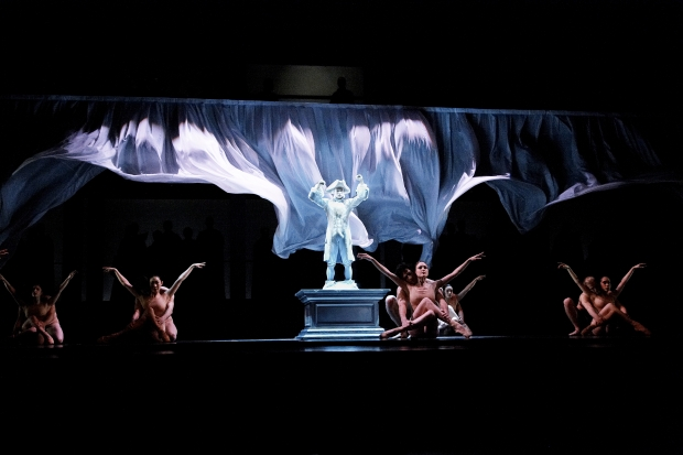 """The company of """"Mozart's Requiem"""". Photo by Peter Cromers, Edmonton Journal."""