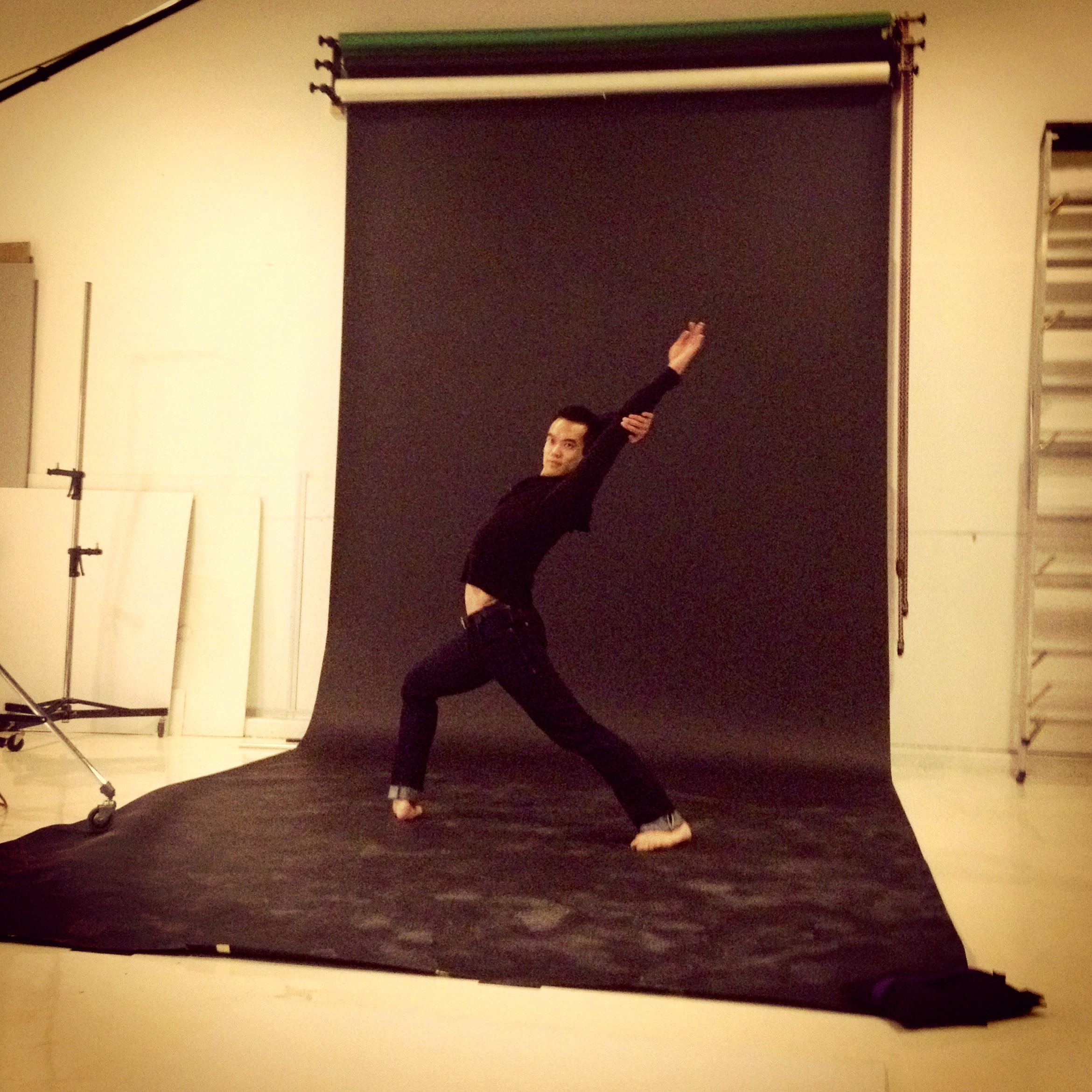 Another photo shoot that we had for O2!