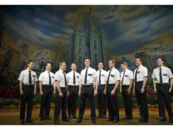 The Book of Mormon is a hilarious musical theatre parody that follows Mormon missionaries in their quest to convert Ugandans.