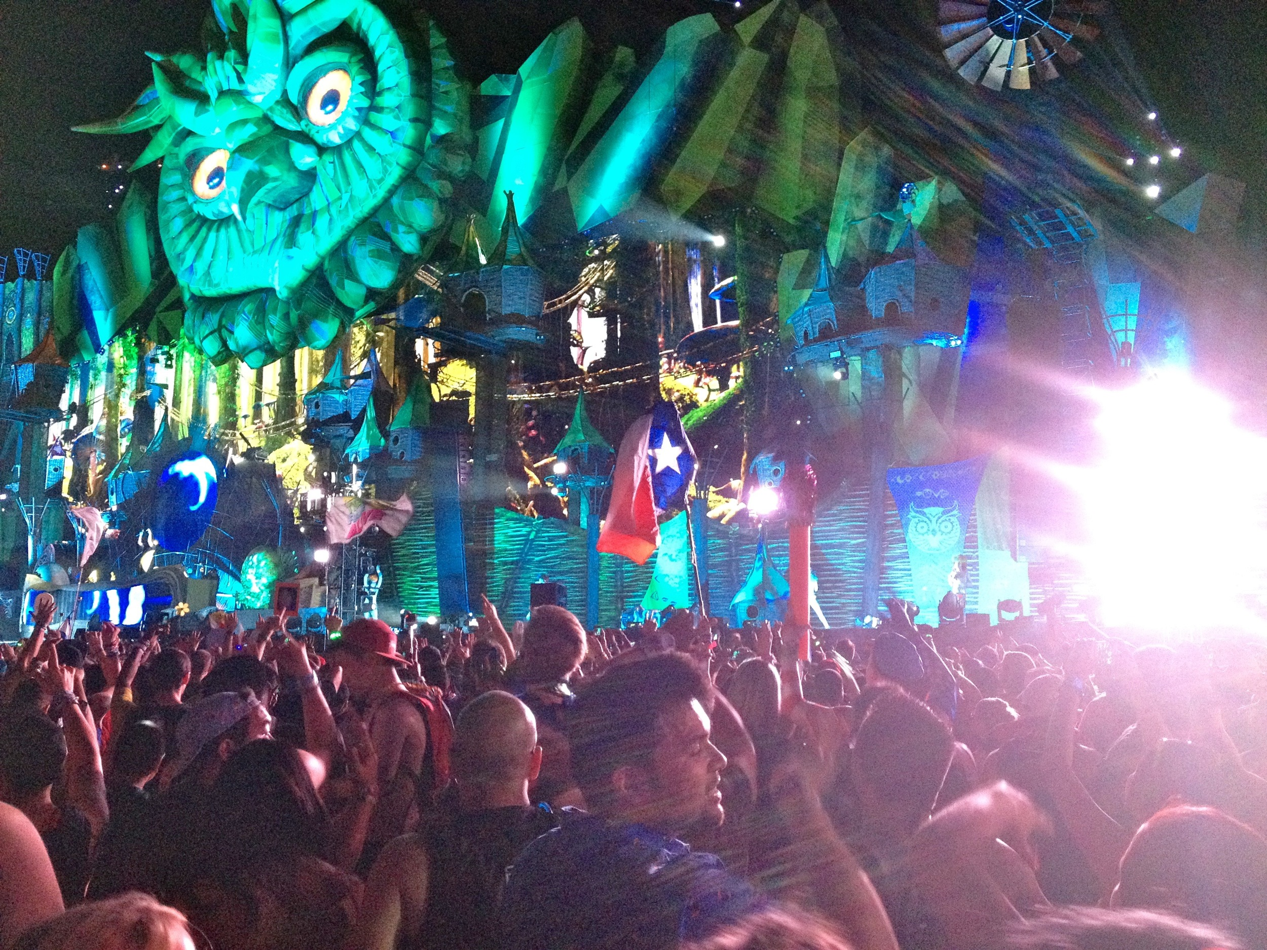 EDC is a larger than life electrified music festival and carnival!
