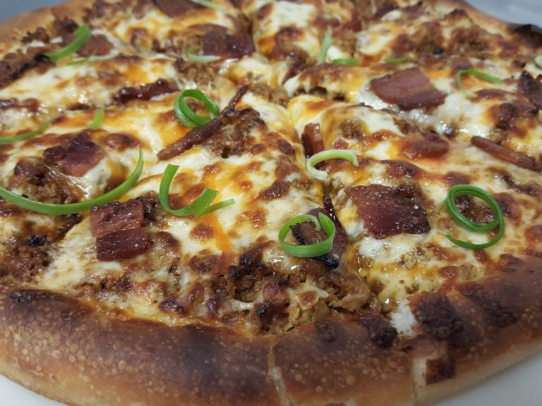 Gordo Pizza's BBQ Beef Pizza. Photo courtesy of YYC Pizza Week.