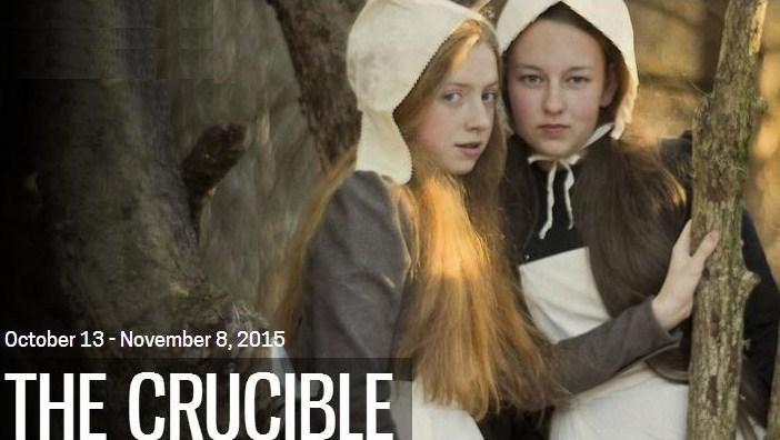 "THEATRE CALGARY'S ""THE CRUCIBLE"" PROMISES TO DELIVER A WICKEDLY EERIE THEATRICAL EXPERIENCE. PHOTO COURTESY OF DAVID COOPER."