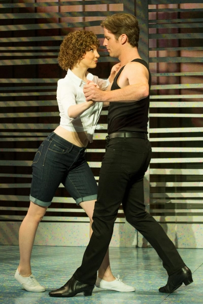 Native Calgarian Gillian Abbott and Christopher Tierney dance their ways into the iconic roles of Baby and Johnny in  Dirty Dancing, The Classic Story On Stage.  Photo courtesy of Broadway Across Canada.