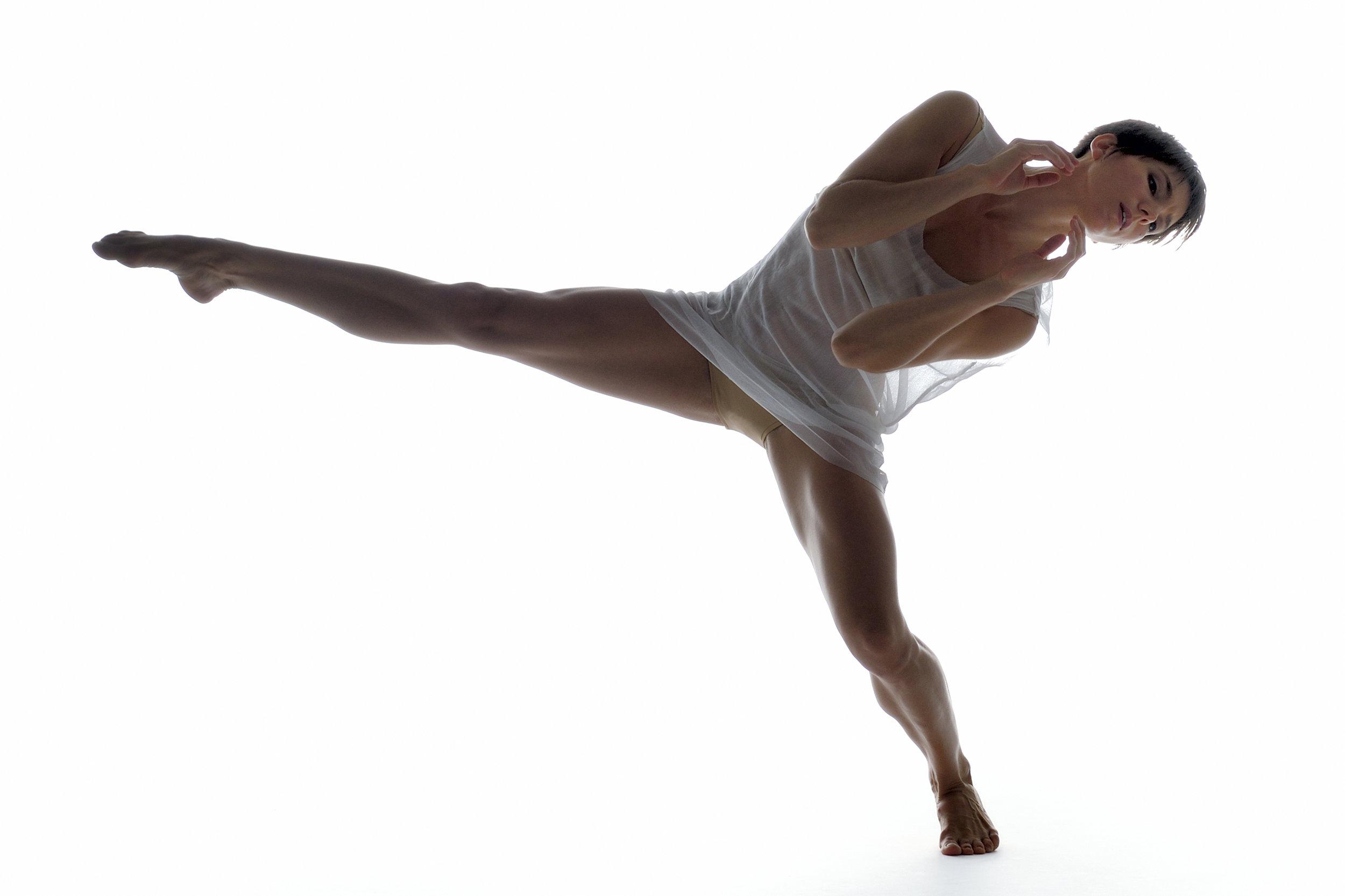 Ballet BC dancer Rachel Meyer. Photo credit - Michael Slobodian