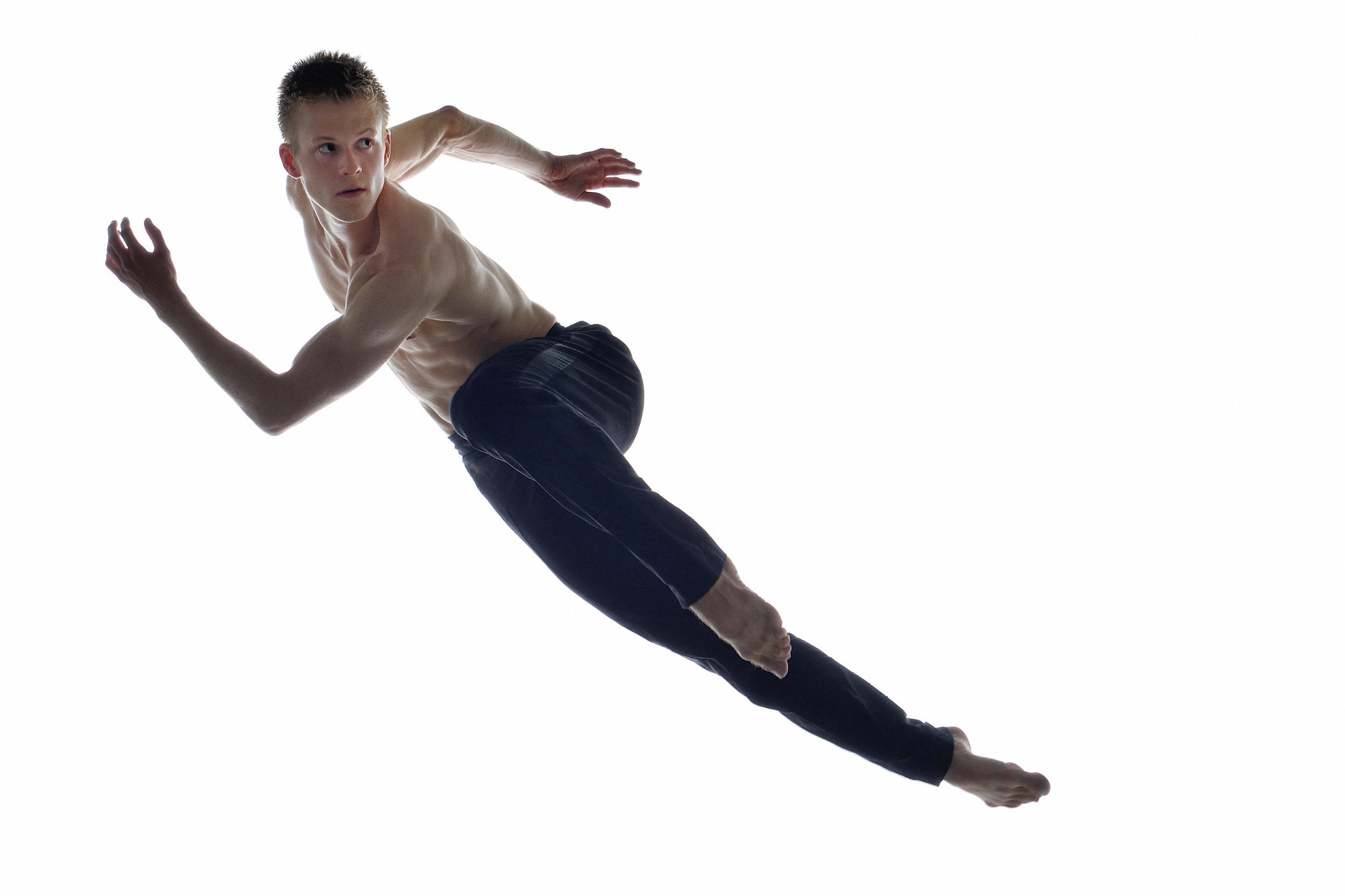 Ballet BC dancer Scott Fowler. Photo credit - Michael Slobodian