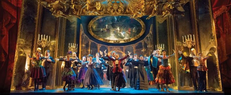The company of The Phantom of the Opera. Photo credit: Alastair Muir