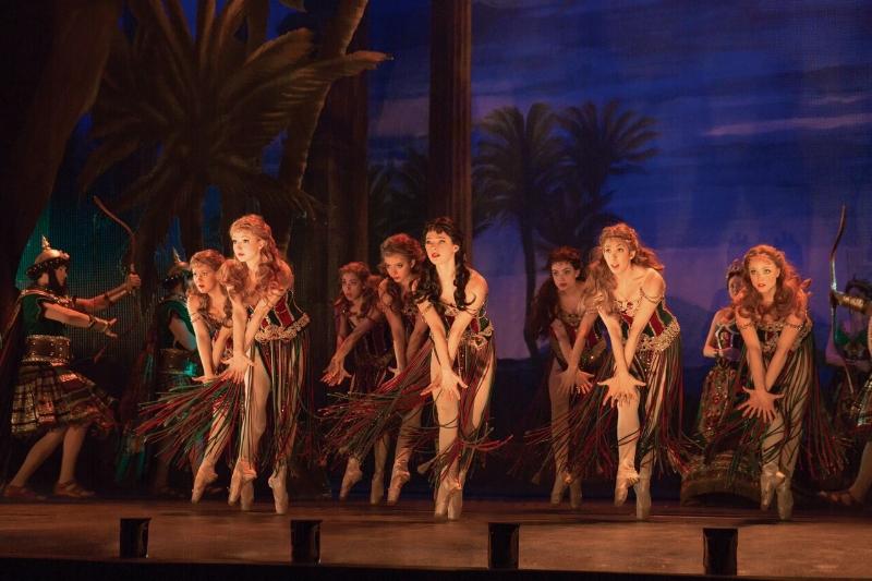 The show's Corps de Ballet. Photo credit: Matthew Murphy