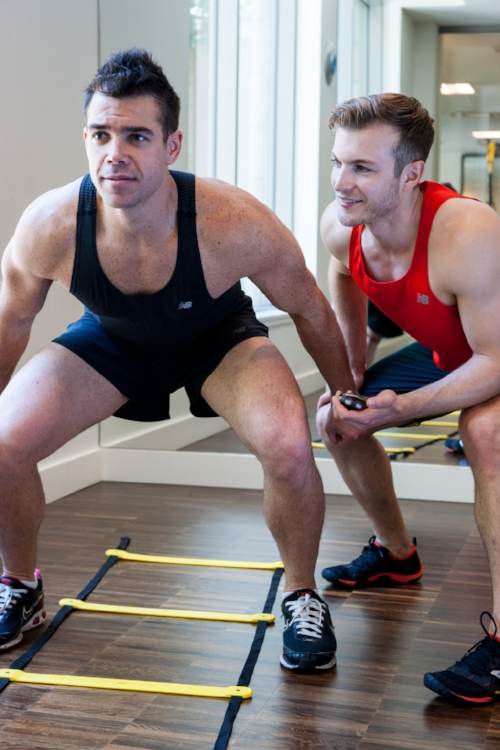 Using their food to help their clients achieve healthy lifestyles is a driving factor for the 2 guys, given their athletic lifestyles.