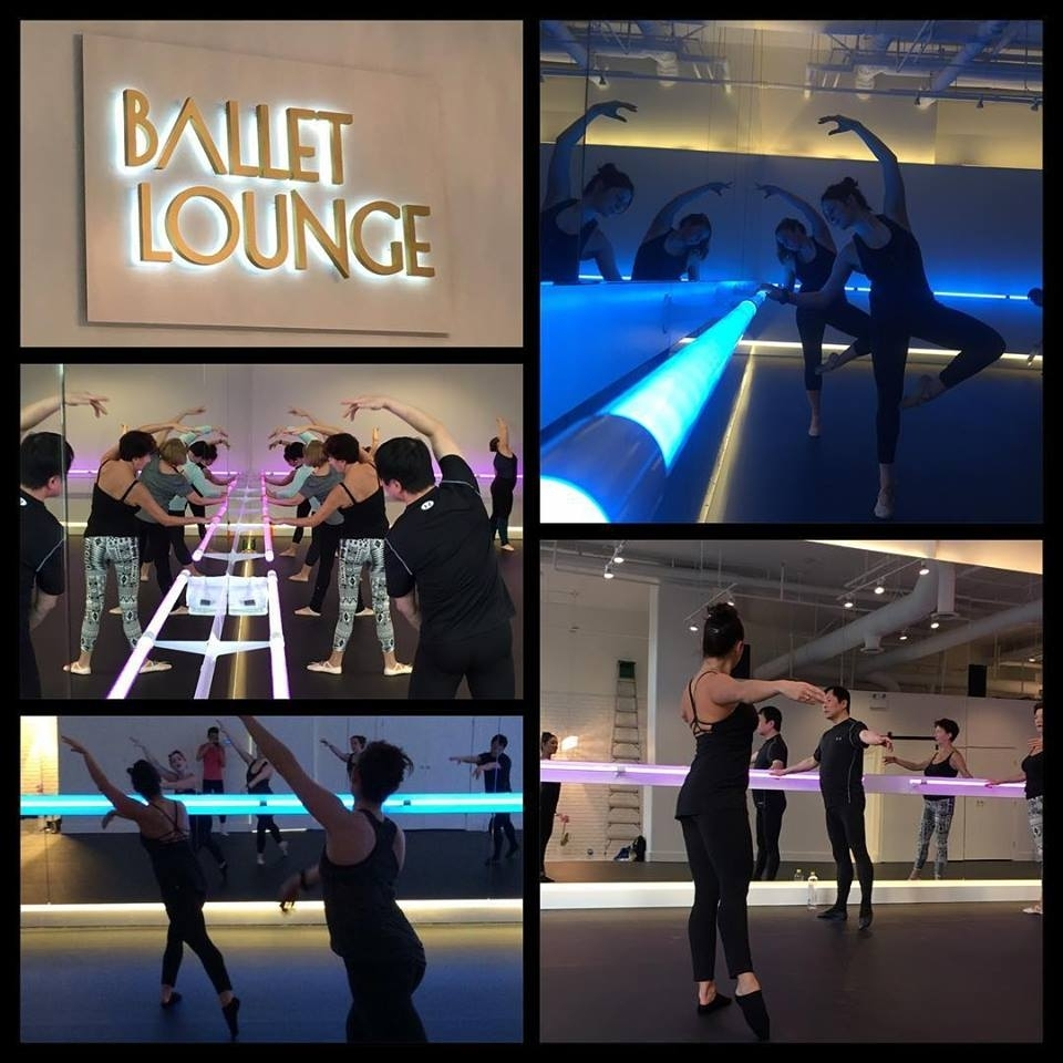 Dancers of all ages, abilities and past dance background are welcome at Ballet Lounge.