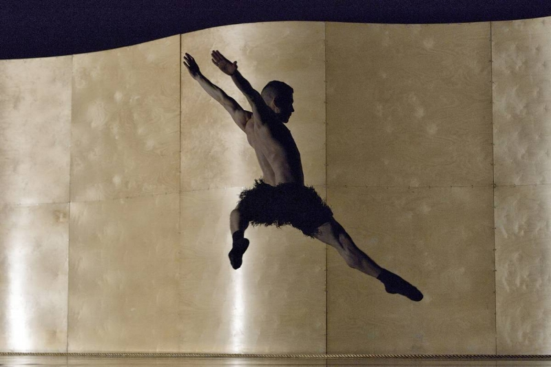 Patrick Kilbane in Ballet BC's Enemy in the Figure. Photo credit: Michael Slobodian