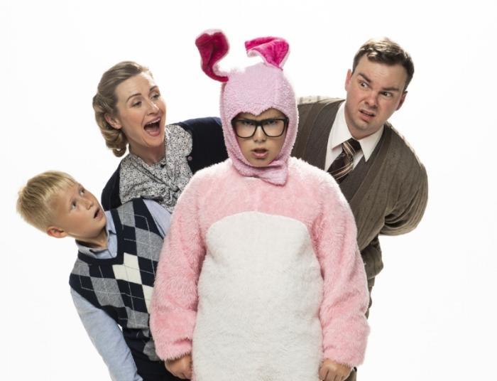From left to right: Georgiy Rhatushnyak, Stefanie Stanley, Owen Scott, and Brennan Cuff. Photo credit: Emily Cooper