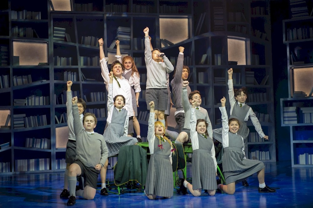 The cast of Matilda The Musical. Photo credit: David Cooper