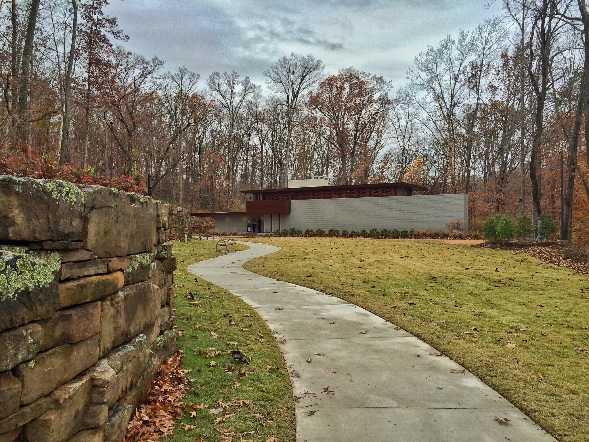 Frank Llyod Wright, Bachman-Wilson House @ Crystal Bridges Museum of American Art.