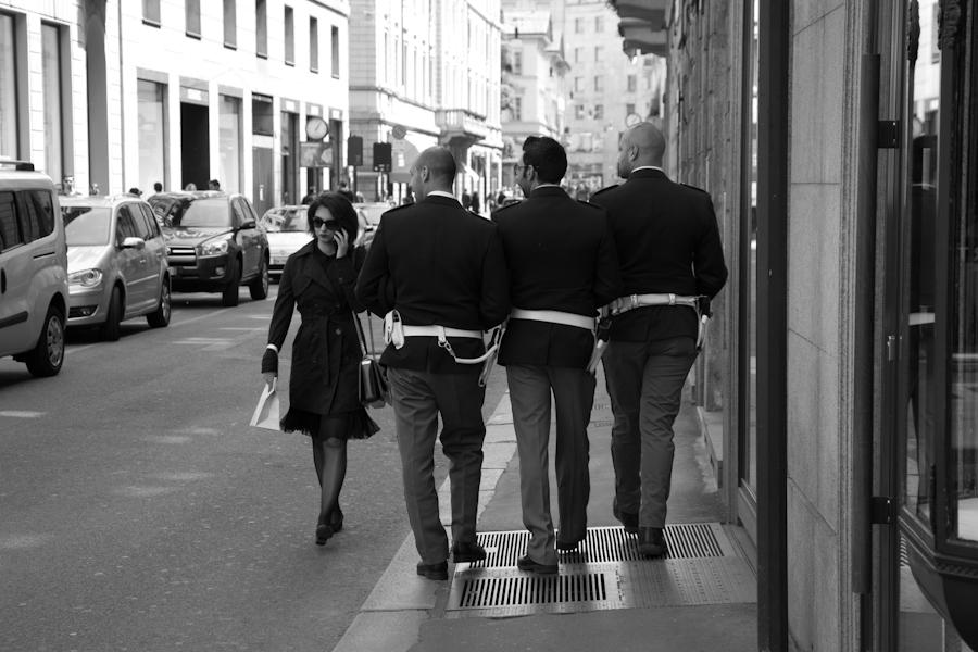 italian policemen