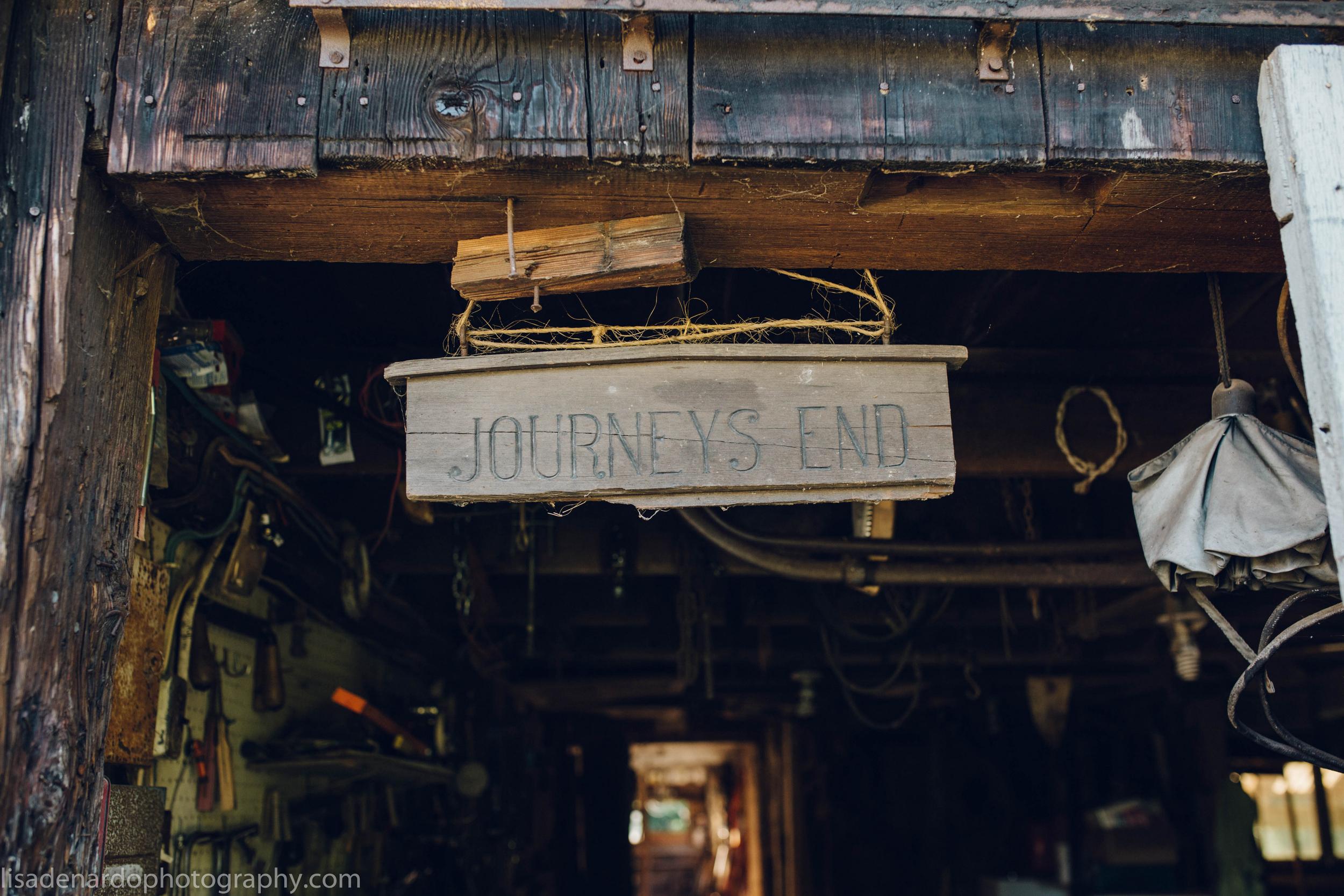 Journey's End Farm Wood Shop